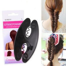 Women Braid Hair Tool Magic Twist Roller Weave Fish Bone Hair Styling Clip Cheap