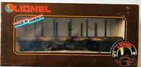 Lionel Large Scale G 8-87504  Union Pacific Flat Car with Stakes