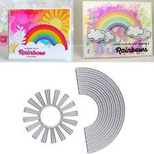 Sunshine+Rainbow Metal Cutting Dies Stencil Scrapbooking Album Embossing Craft