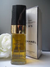 Iv.CHANEL No5 100ml EDT Rare Fabulous Vintage 1980s New Sealed Box + Info Sheet