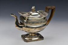 Federal Period Early American Coin Silver Teapot Lewis & Smith Philadelphia