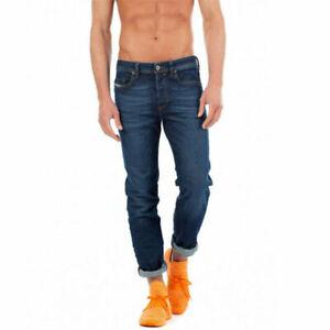 DIESEL BUSTER 084NL Mens Denim Jeans Regular Slim Tapered Leg Cotton Casual Pant