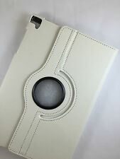 "FUNDA CARCASA TABLET BQ AQUARIS E10 E 10 10,1"" GIRATORIA 360º COLOR BLANCO"