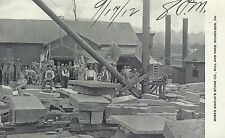 Moses Shield's Stone Co. Mill and Yard Nicholson PA Early Post Card