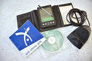 Palm Handspring Visor w/ leather tri-fold, software, guide, stylis, Parts mostly