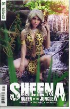 SHEENA QUEEN OF THE JUNGLE #1 Cosplay Variant Cover SIGNED Ashley Du COA NM