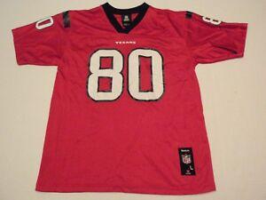 Andre Johnson Houston Texans Reebok NFL Jersey Youth Large (14-16) #80