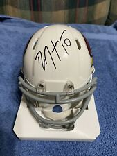 DEANDRE HOPKINS signed auto RIDDELL Speed Mini Helmet CARDINALS JSA COA (MW)