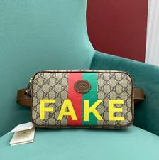 Gucci GG fake/not Print Belt Bag