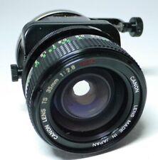 Canon FD TS 2.8 35mm S.S.C.  Objektiv  An-Verkauf ff-shop24