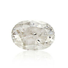 1.02 Ct Oval Cut Brilliant White Natural Loose Diamond Color G Clarity I2 New