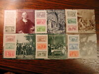 U.S., Italy, Portugal & Spain – Full Set each of the 500th Anniversary of Col...