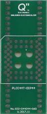 "PLCC44T to DIP44 0.6"" socket. [UK]"