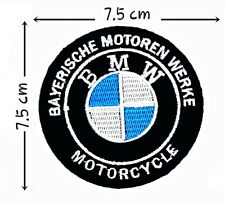 BMW Motorcycle patches Logo Embroidery iron on,Sew on Clothes