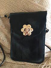 Faux Leather Crossbody Bag Soft Feel Shoulder Bag Mobile  Passport Travel NEW