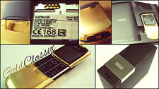 *VERY RARE* NEW IN BOX! MADE IN GERMANY UNLOCKED GOLD NOKIA 8800 MOBILE PHONE