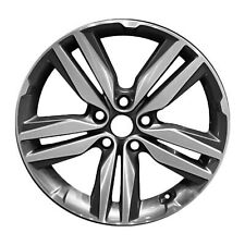 18x7.5 5 Double Spoke Alloy Wheel Machined And Dark Charcoal Metallic 74719