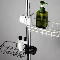 Kitchen Sink Faucet Sponge Soap Cloth Drain Rack Storage Holder Shelf F8A0