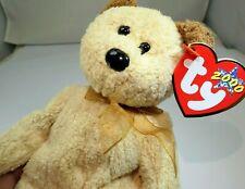 """TY Beanie Babies """"Huggy"""" USA 8"""" with tags Teddy Bear"""