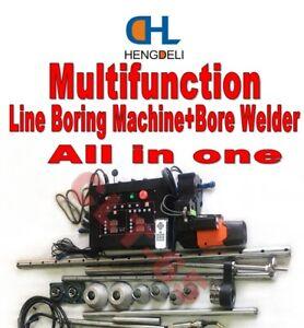 Portable Line Boring Machine+Bore Welder Excavator Machinery repair Tools HDL350