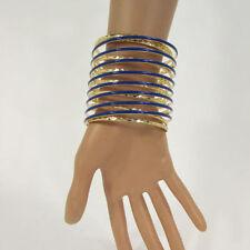 ce5c2554 Pulseras de bisutería azules de metal dorado | Compra online en eBay