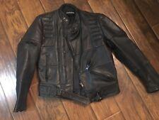 Harley Davidson Leather Mens Jacket Size 42 -Possibly Vintage