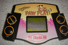 Frito Lay Cheetos Paw Play LCD Handheld Game 1990 Chester Cheetah's Works HTF
