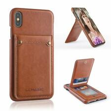 iPhone Xs Max Wallet Case with 4 Card Slots, Premium PU Leather Case wit