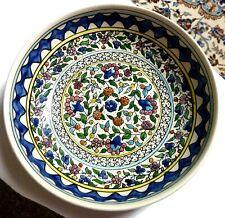 Schale aus Keramik / gemustert - sehr gut erhalten