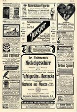 Dresdener Christstollen Eppner Uhren Lebkuchenfiguren Heinrichsen Figuren...1908