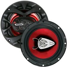 (2) Boss Audio CH6530 Chaos Series 6.5 Inch 3 Way Speakers New Free Shipping USA