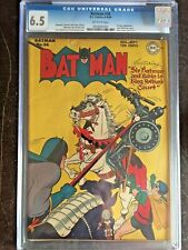 BATMAN #36 CGC FN+ 6.5; OW; King Arthur app.!