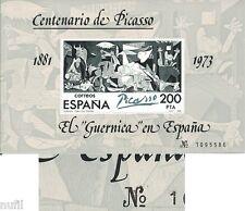 "Spain  Edifil # 2631 ** MNH Set Pintura Picasso painters VARIEDAD ""Nº"""