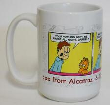 2012 Paws ~ Ape From Alcatraz 6-10-12 ~ Garfield The Cat ~ Coffee Cup Mug