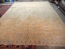 Wonderful antique Spanish rug circa 1930s handmade wool carpet Spain 9 x 11'9''