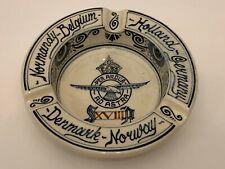 Vintage Ivora Gouda Holland Delft Pottery Royal Air Force Commemorative Ashtray