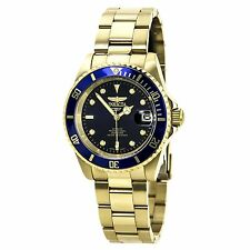Invicta 8930C Men's Pro Diver Blue Dial Watch with Coin Edge Bezel