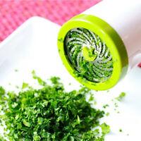 Home Herb Grinder Spice Mill Parsley Shredder Chopper Fruit Vegetable Cutter UK