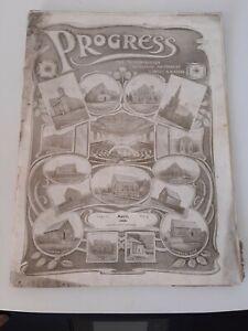 Scarborough Wesleyan Methodist Circuit Magazine, Progress April 1906+Advertising