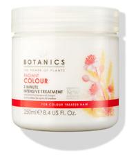 Botanics Hair Treatment Mask Radiant Colour 3 Minute Intensive 1x250ml Boots NEW