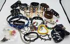 1.4 LB Skull Goth Punk Heavy Metal Mixed Costume Jewelry/Accessories Lot BT843