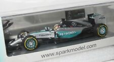 1/43 Mercedes F1 W06 Hybrid  Winner US GP 2015  Lewis Hamilton with Pit Board