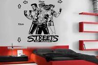 streets of rage classic sega megadrive snes nintendo vinyl wall art sticker