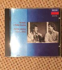 Johannes Brahms: 3 Violin Sonatas - Pierre Amoyal, Pascal Rogé
