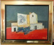 "Wim OEPTS (1904-1988) ""paysage du Sud"" DUTCH SCHOOL Ecole de Charley TOOROP"