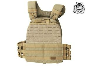 5.11 TACTICAL TACTEC™ PLATE CARRIER 56100 / SANDSTONE 328 - NEW