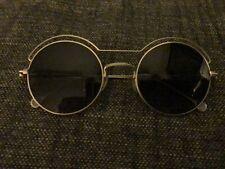 anne et valentin Shibuya round metal sunglasses