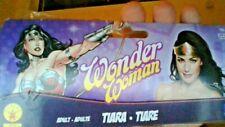 """DC COMICS - WONER WOMEN  Superheroes """"  Wonder Woman Tiara """"  GOLD & RED STAR"""