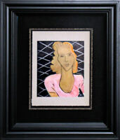 "Henri MATISSE Limited Edition SIGNED ""La Dame Au Corsage Rose"" Lithograph"