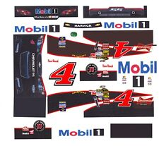 #4 Kevin Harvick Mobil 1 Chevrolet SS 2014 1/64th HO Scale Slot Car Decals